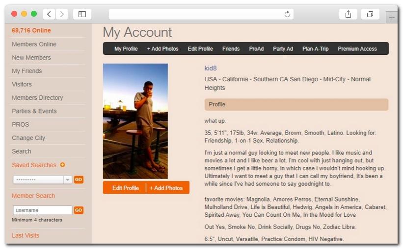 Profiles adam4adam