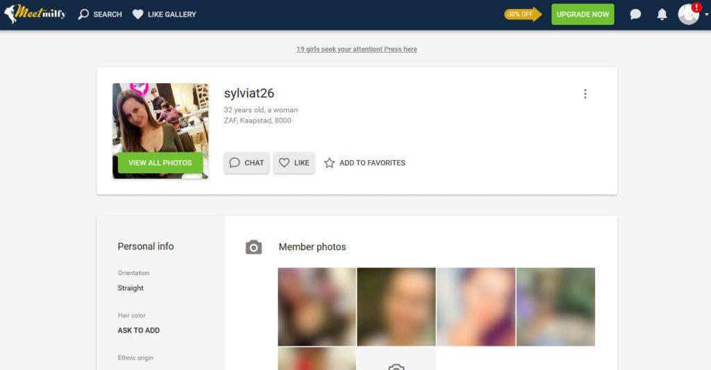 Profiles meetmilfy