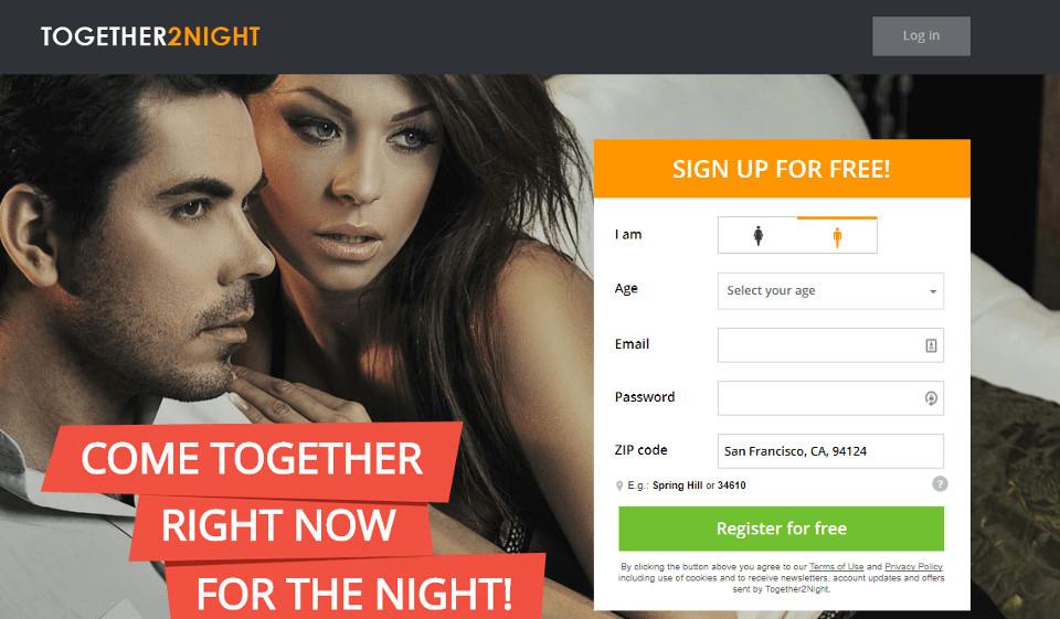 Sign Up Process togethertonight