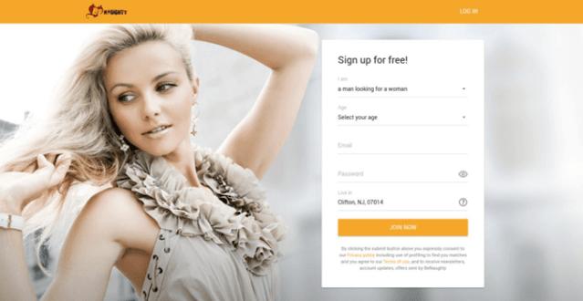 Sign up Process Benaughty