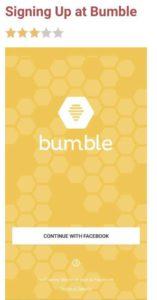 Bumble profile