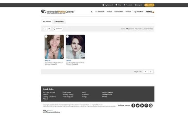 InterracialMatch profile
