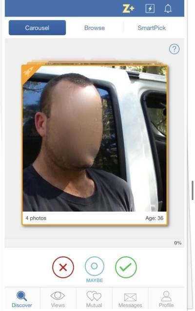 Zoosk profile